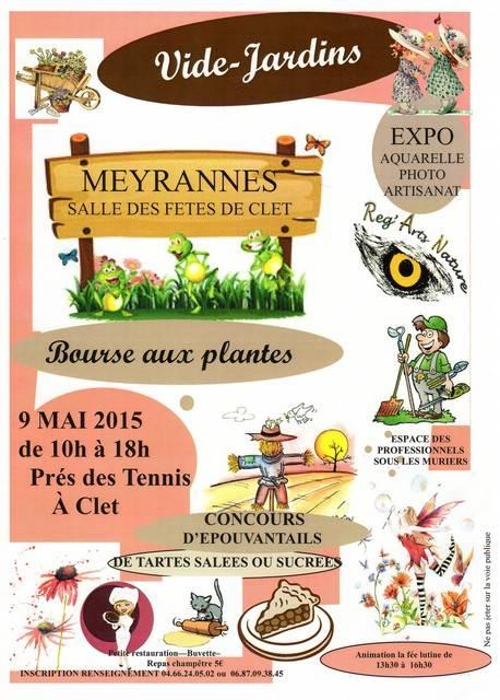 Vide jardin et bourse aux plantes 2015 meyrannes gard for Vide jardin tournefeuille 2015
